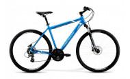 Горный велосипед Merida Crossway 10-D (2021) синий 58см