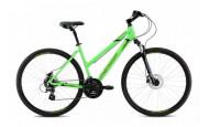 Горный велосипед Merida Crossway 10-D Lady (2021) зеленый 54см