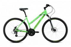 Велосипед Merida Crossway 10-D Lady (2021) зеленый 54см