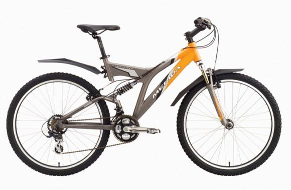 Двухподвесный велосипед Merida Fireball (2004)