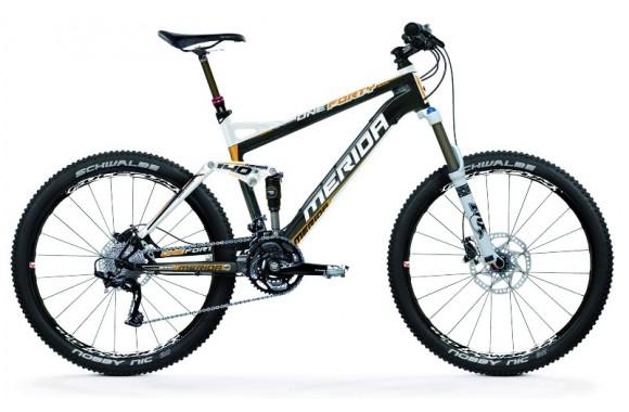 Двухподвесный велосипед Merida One-Forty Carbon 3000-D (2012)