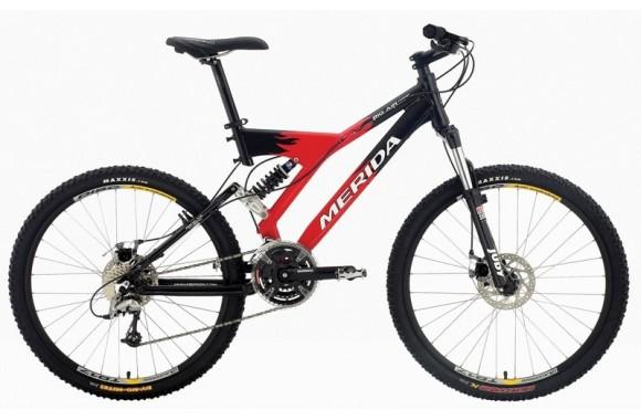 Двухподвесный велосипед Merida Big Air Comp (2005)