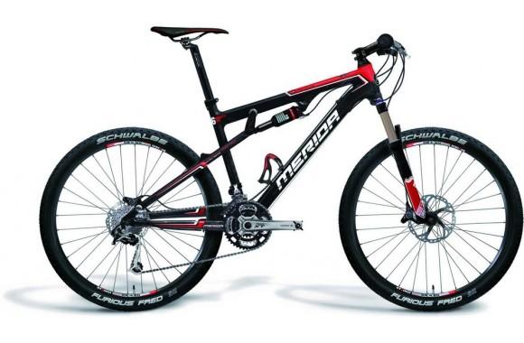 Двухподвесный велосипед Merida Ninety-Six Carbon 3500-D (2009)