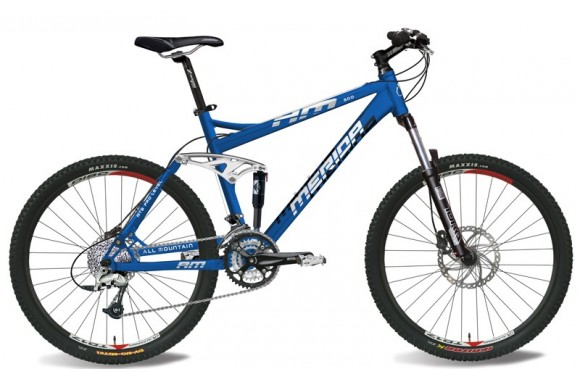 Двухподвесный велосипед  Merida All_mountain 500 D (2007)