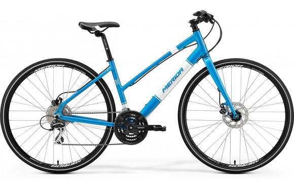 Женский велосипед  Merida Crossway Urban 20-D-lady FED (2017)