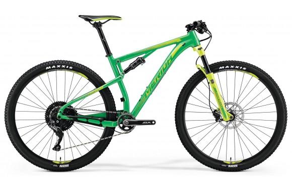 Двухподвесный велосипед Merida Ninety-Six 9.600 (2018)